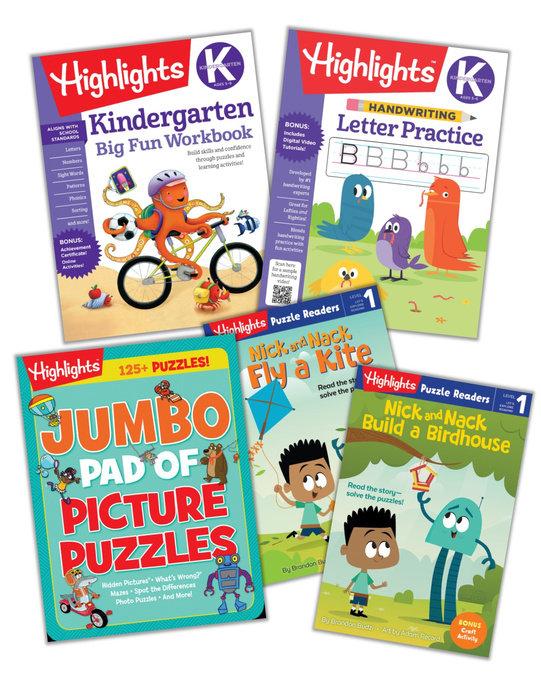 Kindergarten Learning Fun Bundle