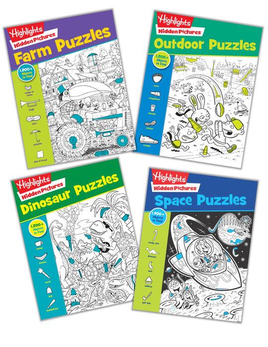 Hidden Pictures Galore (ages 6-up) Bundle