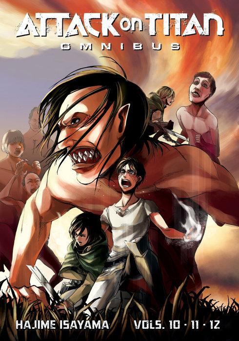 Attack on Titan Omnibus 4 (Vol. 10-12)