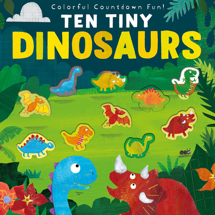 Ten Tiny Dinosaurs