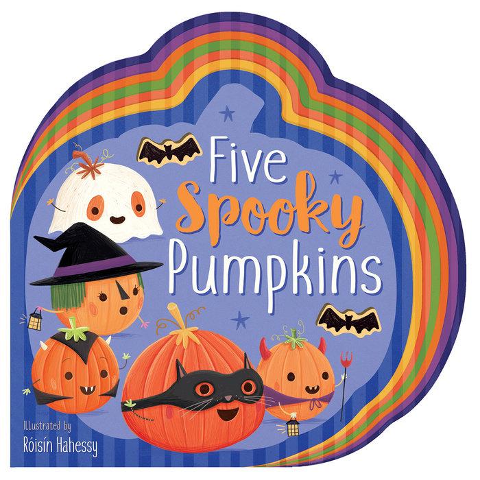 Five Spooky Pumpkins