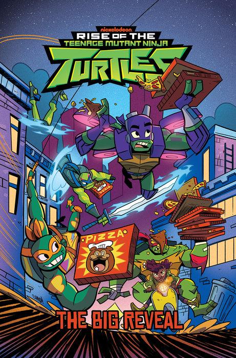 Rise of the Teenage Mutant Ninja Turtles: The Big Reveal