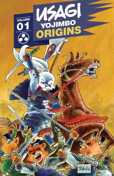 Usagi Yojimbo Origins, Vol. 1: Samurai