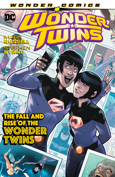 Wonder Twins Vol. 2: The Fall and Rise of the Wonder Twins