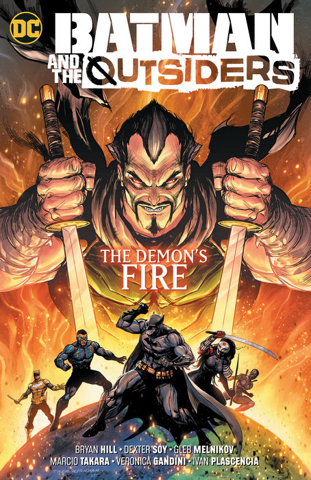 Batman & the Outsiders Vol. 3: The Demon's Fire