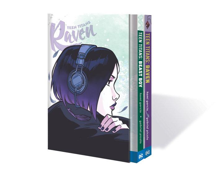 Teen Titans: Raven and Beast Boy HC Box Set