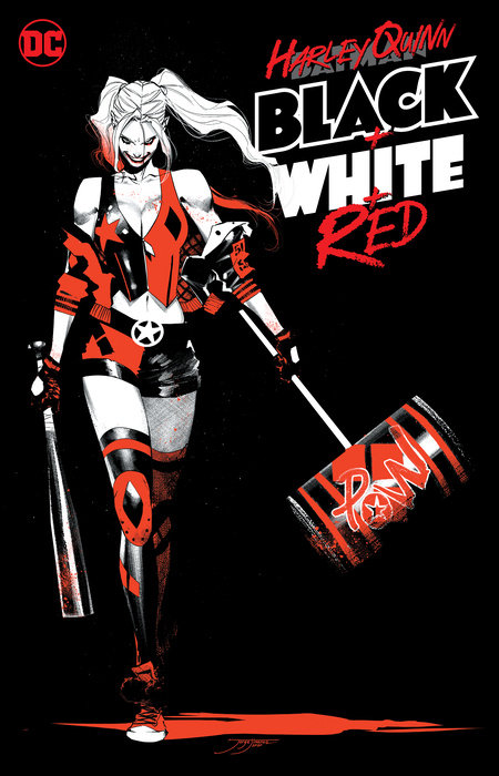 Harley Quinn Black + White + Red