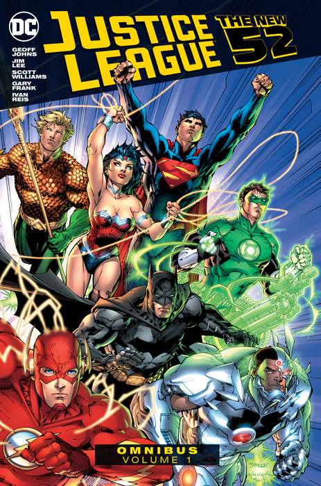 Justice League: The New 52 Omnibus Vol. 1