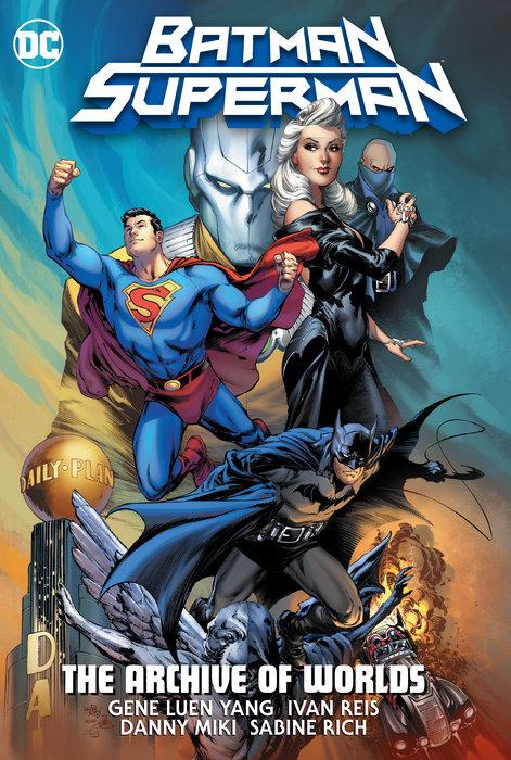 Batman/Superman: The Archive Of Worlds