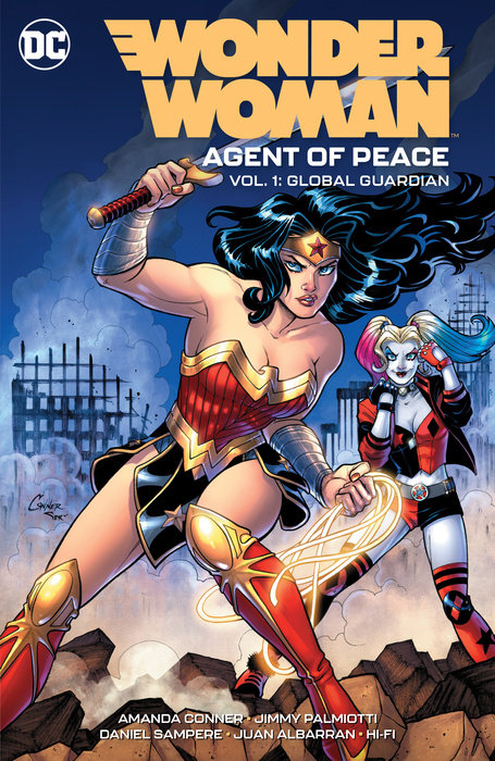 Wonder Woman: Agent of Peace
