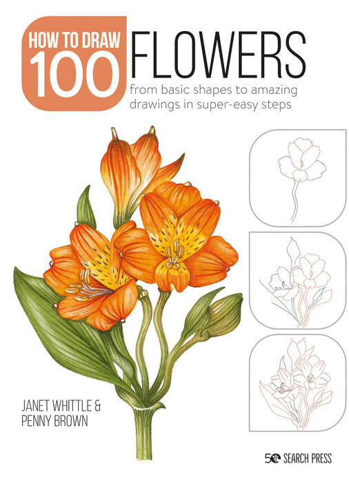 How to Draw 100: Flowers