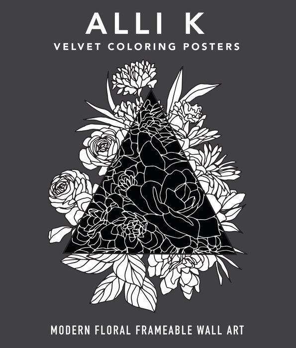 Velvet Coloring Posters