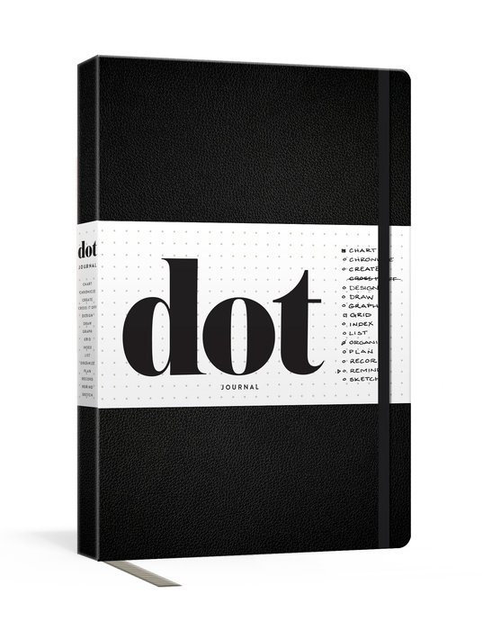 Dot Journal (Black)