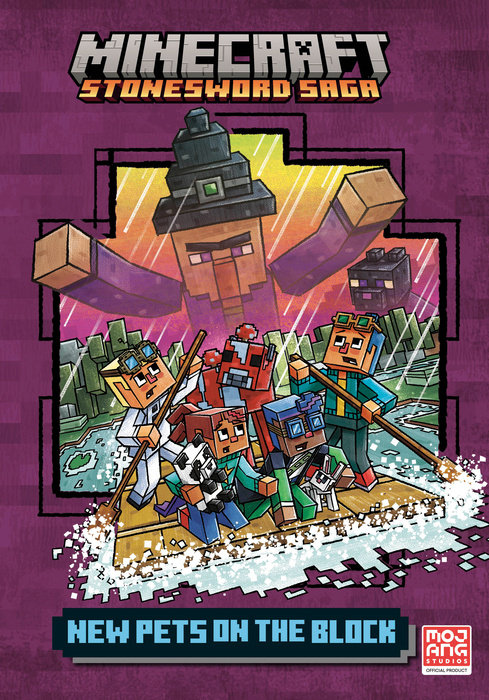 Minecraft Chapter Book #9 (Minecraft Stonesword Saga #3)