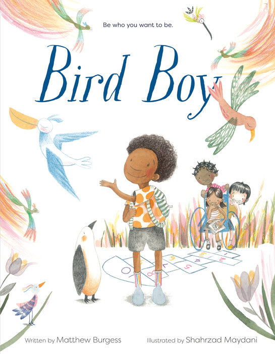 Bird Boy (An Inclusive Children's Book)
