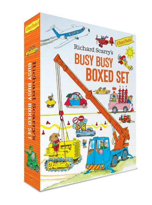 Richard Scarry's Busy Busy Boxed Set