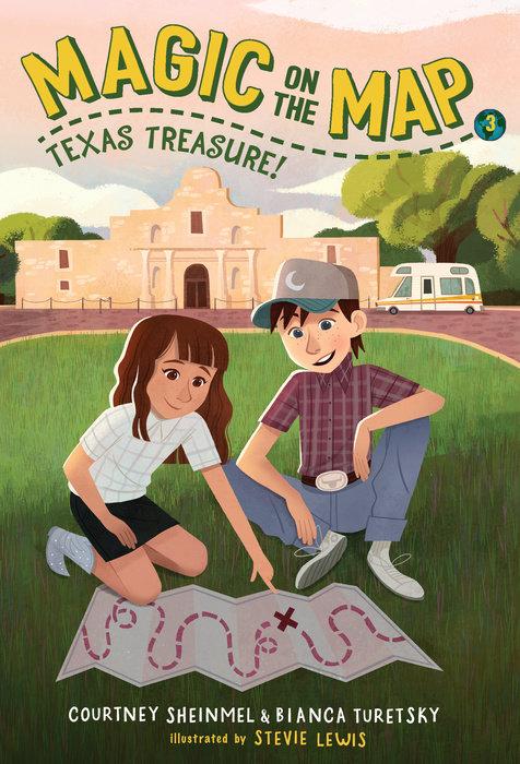 Magic on the Map #3: Texas Treasure