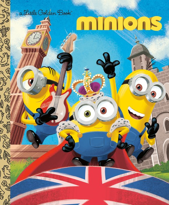 Minions Little Golden Book