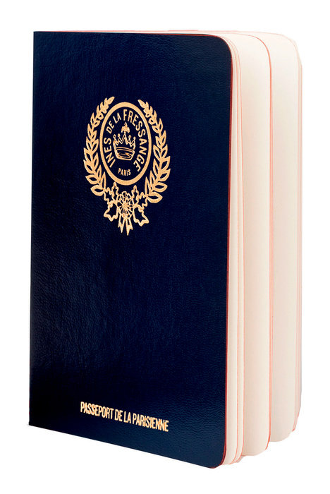 Parisian Chic Passport (blue)