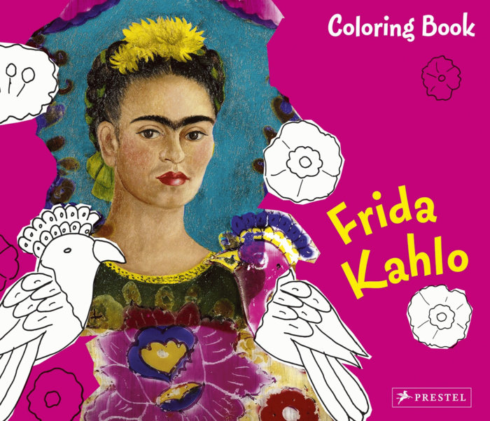 Coloring Book Frida Kahlo