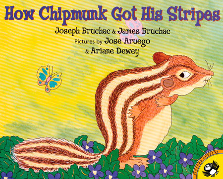 How Chipmunk Got His Stripes