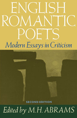 Cover art for English Romantic Poets: Modern Essays in Criticism