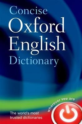 Cover art for Concise Oxford English Dictionary