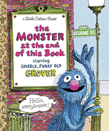 The Monster at the End of This Book (Sesame Street) by