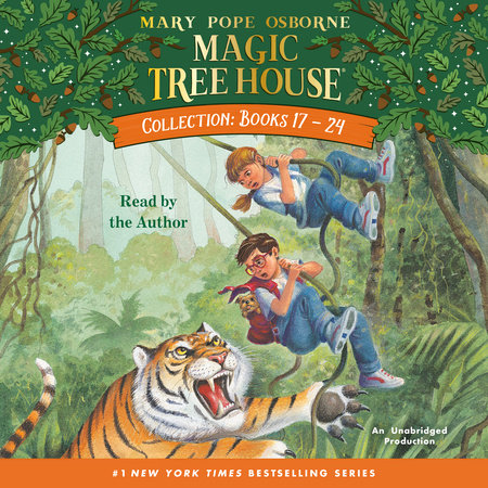 Magic Tree House CD Edition Books 17-24 by