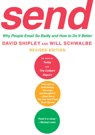 Send (Revised Edition) by Will Schwalbe and David Shipley