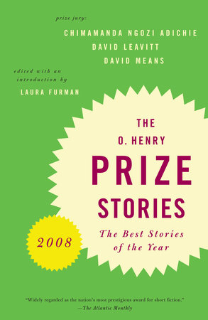 O. Henry Prize Stories 2008 by