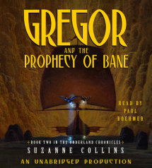 The Underland Chronicles Book Two: Gregor and the Prophecy of Bane Cover