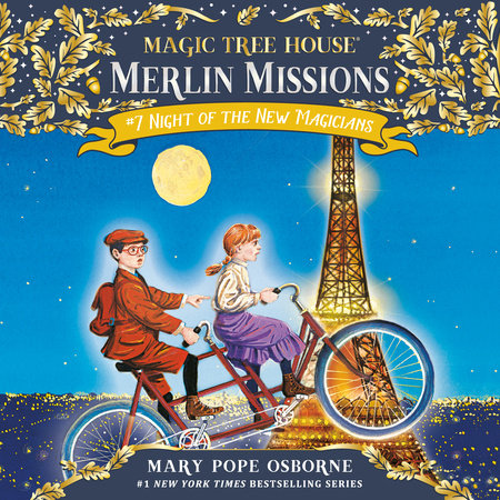 Magic Tree House #35: Night of the New Magicians by
