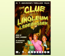 The Clue of the Linoleum Lederhosen Cover
