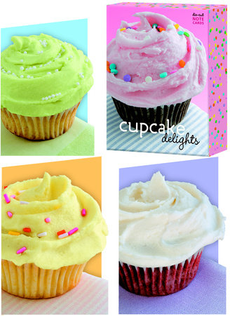 Cupcake Delights Note Cards by
