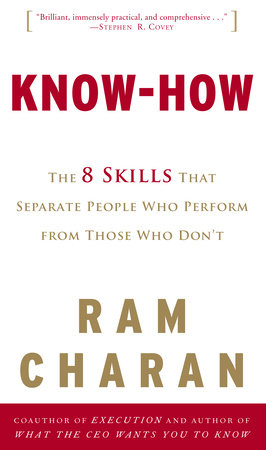 Know-How by Ram Charan