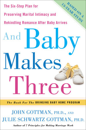 And Baby Makes Three by John Gottman, Ph.D. and Julie Schwartz Gottman