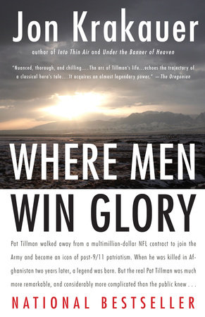 Where Men Win Glory book cover