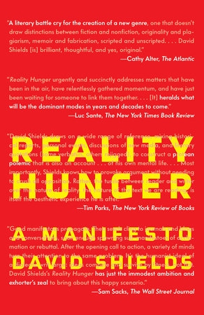 Reality Hunger by