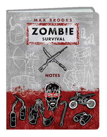 Zombie Survival Notes Mini Journal by