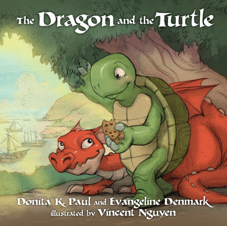 The Dragon and the Turtle by