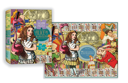 Alice in Wonderland Puzzle by Linda Sunshine