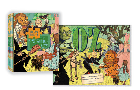 Wizard of Oz Puzzle by Linda Sunshine
