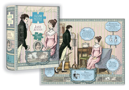 Jane Austen Puzzle by Potter Style
