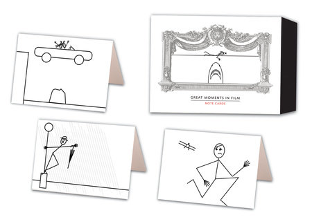 Great Moments in Film Note Cards by