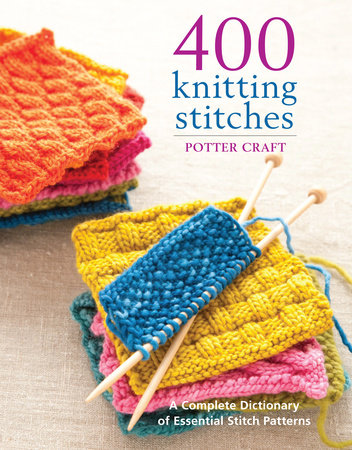 400 Knitting Stitches by Crown