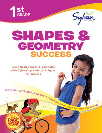 First Grade Shapes & Geometry Success (Sylvan Workbooks) by