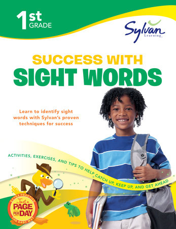 First Grade Success with Sight Words (Sylvan Workbooks) by Sylvan Learning