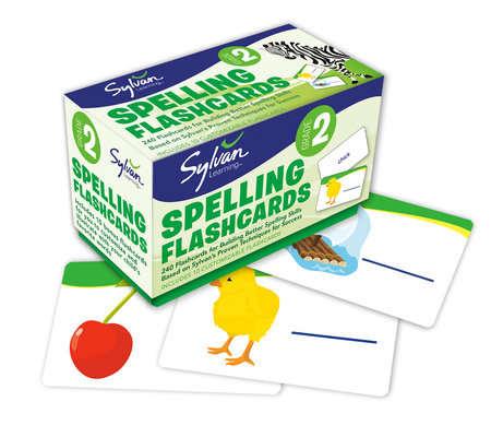 Second Grade Spelling Flashcards by Sylvan Learning