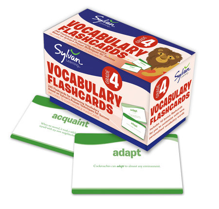 Fourth Grade Vocabulary Flashcards by Sylvan Learning